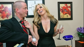 Julia Ann in 'Office Party Fucking'