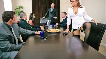 Devon Michaels in 'Cheating At Work'