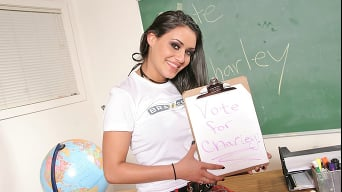 Charley  Chase in 'Vote For Charley'