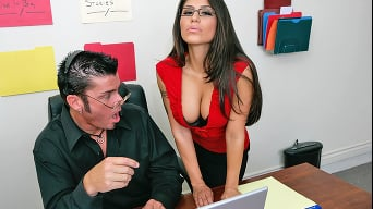 Jenaveve Jolie in 'Writers Cock'