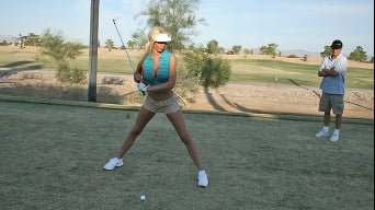 Tanya James in 'Daddys Little Golf Girl'