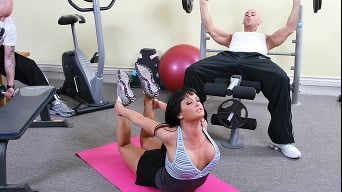 Tory Lane in 'Lets get Physical'
