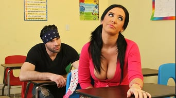 Jayden Jaymes in 'Detention'