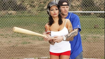 Ricki Raxxx in 'Teach Me How to Hold a Hard Bat'