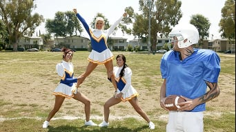 Crista Moore in 'Cheerleader Distraction'