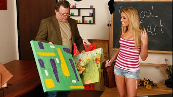 Brynn Tyler in 'Big Dick Drawing 101'