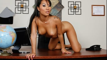 Asa Akira in 'Meditate While I Slam Your Wife'