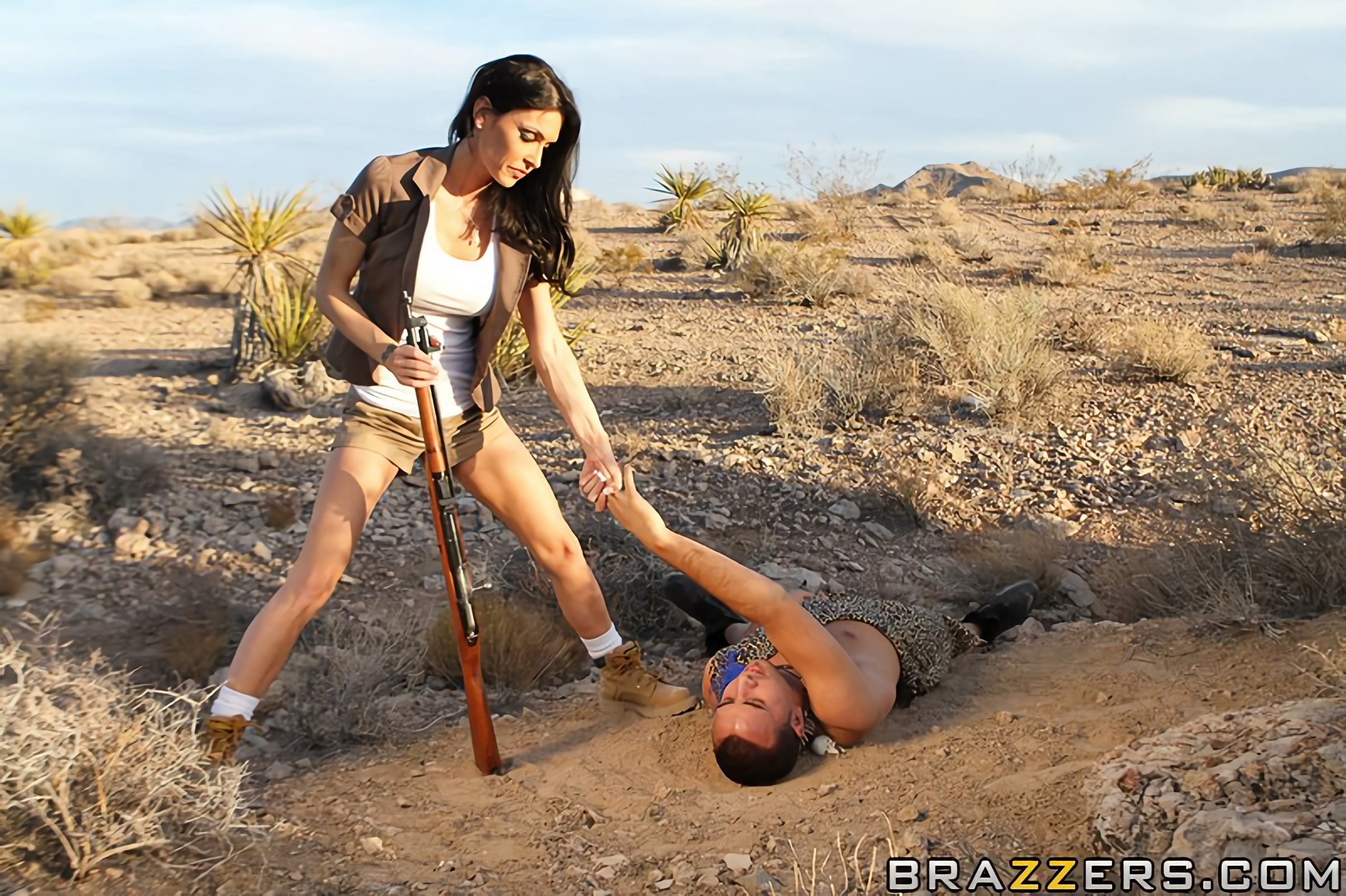 Brazzers 'The Cock Huntress' starring Jessica Jaymes (Photo 5)