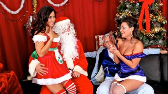 Charley Chase in 'A Very Naughty Xmas'