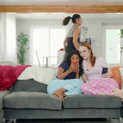Laila Lust in 'Brazzers' Sneaky Sleepover Cheat (Thumbnail 2)