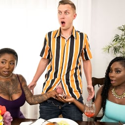 Osa Lovely in 'Brazzers' Meeting GF's Slutty Family (Thumbnail 1)