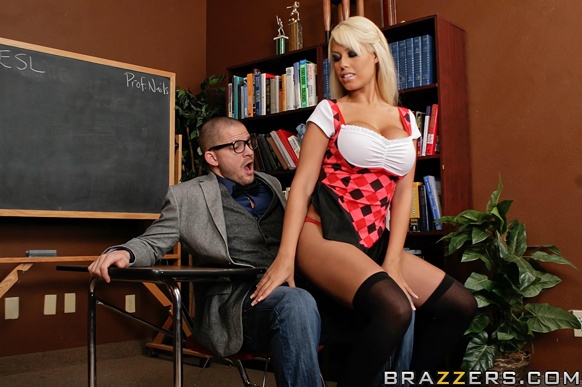 Brazzers 'Dick Is For Suck' starring Bridgette B (Photo 5)