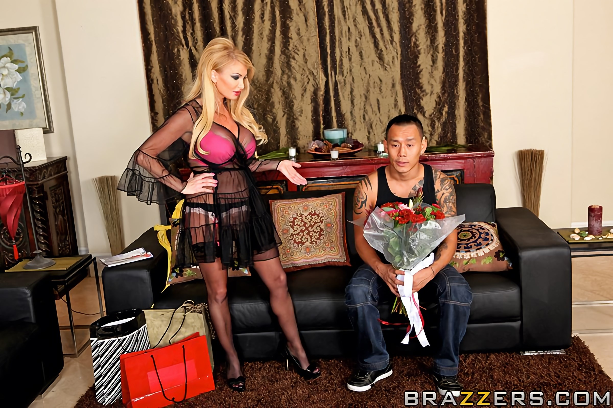Brazzers 'House of Sluts- Chapter 2' starring Taylor Wane (Photo 5)