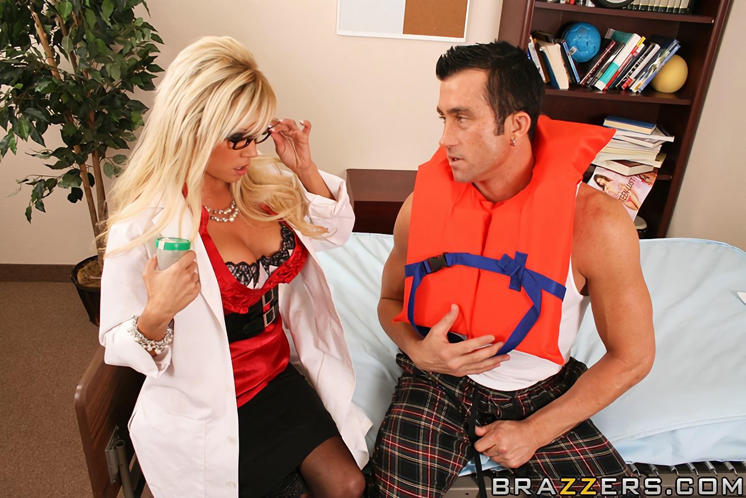 Brazzers 'Doctor Squirtsalot' starring Nikita Von James (Photo 7)