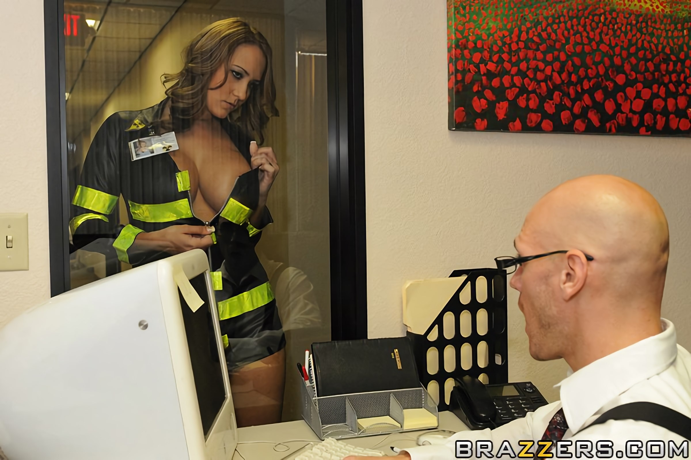 Brazzers 'Nuclear Tits' starring Trina Michaels (Photo 5)