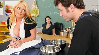 Sophie Dee in 'Whores Cooking Class'