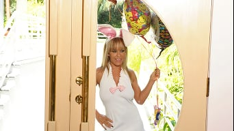 Jessica Moore in 'Anal Bunny Birthday'