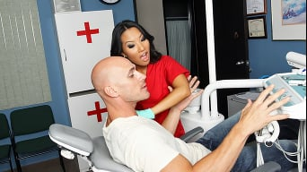 Asa Akira in 'Pussy is The Best Medicine'