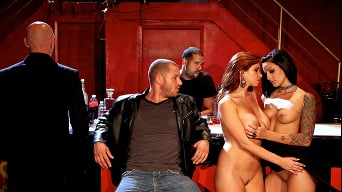 Diamond Foxxx in 'Ep-2 Bonus Footage- Extended Orgy Scene'