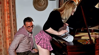 Lily Labeau in 'Porking the Piano Professor'