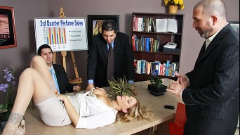 Julia Ann in 'Office Vibrations'