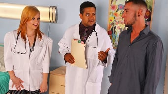 Brandi Belle in 'Banging my Patient'