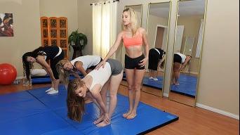 Faye Reagan in 'Yoga Pussy'