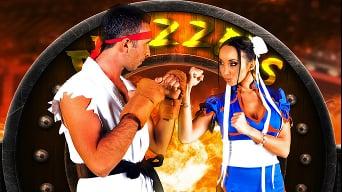 Katsuni in 'Sex Fighter 2'