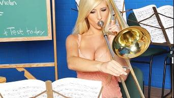 Tasha Reign in 'Rusty Trombone'