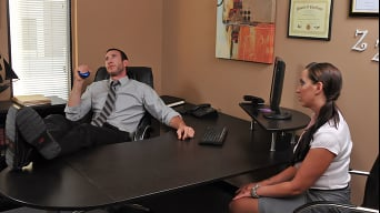 Kelly Divine in 'Boning My Secretary'