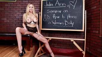 Julia Ann in 'Oral Exam'
