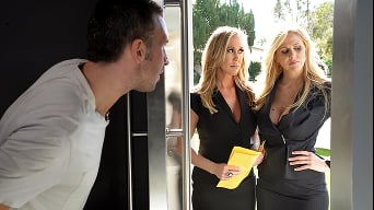 Brandi Love in 'Door to Door Whores'