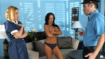 Jenna Presley in 'Yes Maam Yes'