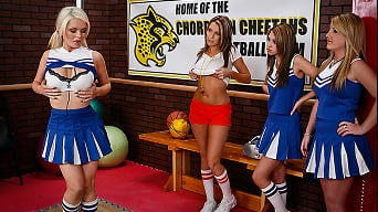 Alexis Ford in 'Cheering Chesticles'