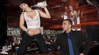 Valerie Kay in 'Bartender Boobies'