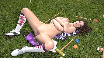 Karina White in 'The Croquet Lay'