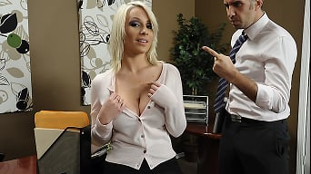 Lexi Swallow in 'Swallowing her Boss'