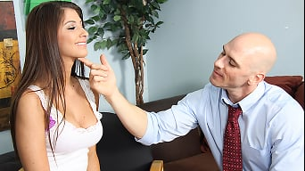 Karina White in 'Cock Knock For Counsel'