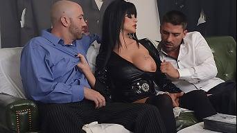Joslyn James in 'Hellvira Mistress Of The Fuck'