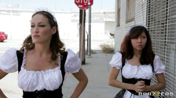 Mackenzee Pierce - Inglourious French Maids - Part 1