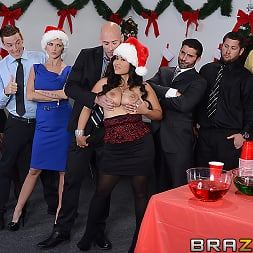 Jessica Bangkok in 'Brazzers' Office Christmas Party (Thumbnail 1)