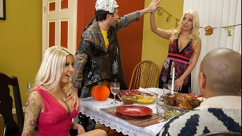 Britney Amber in 'The Real Story Of Thanksgiving'