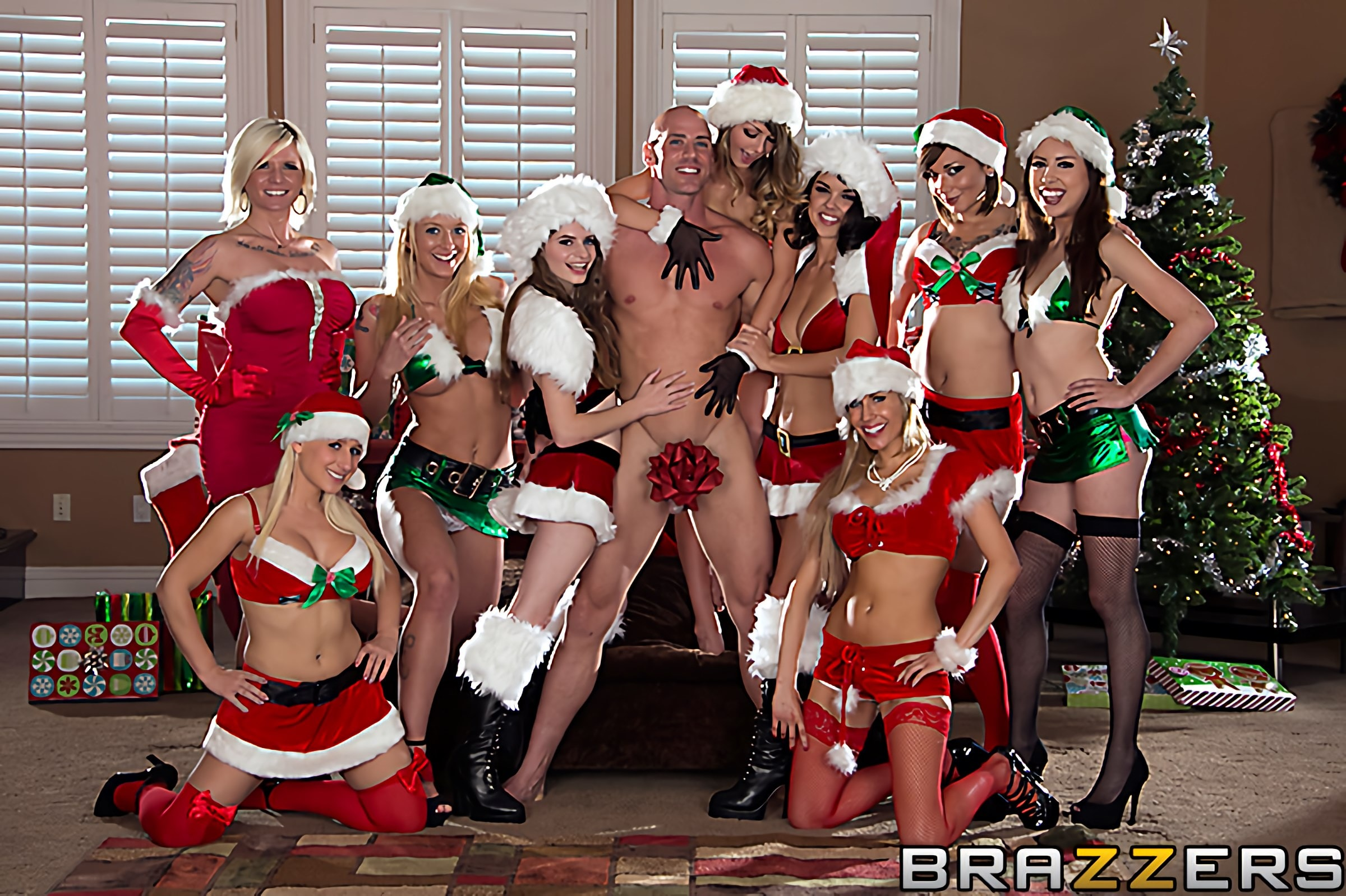 Brazzers 'A Brazzers Christmas Party' starring Dillon Harper (Photo 2)
