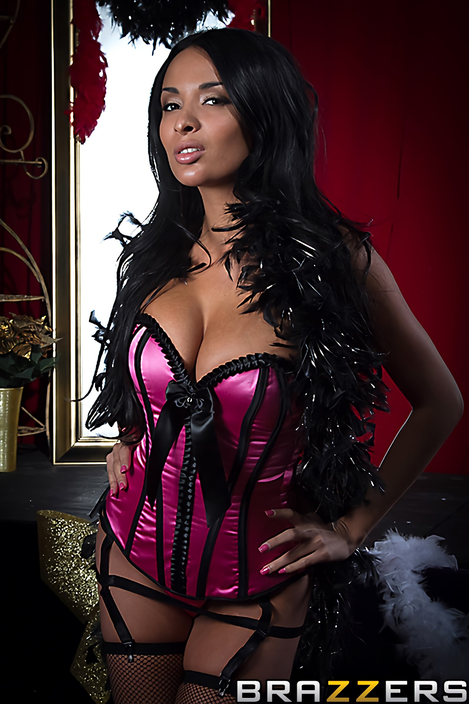 Brazzers 'Burlesque Excess' starring Anissa Kate (Photo 14)