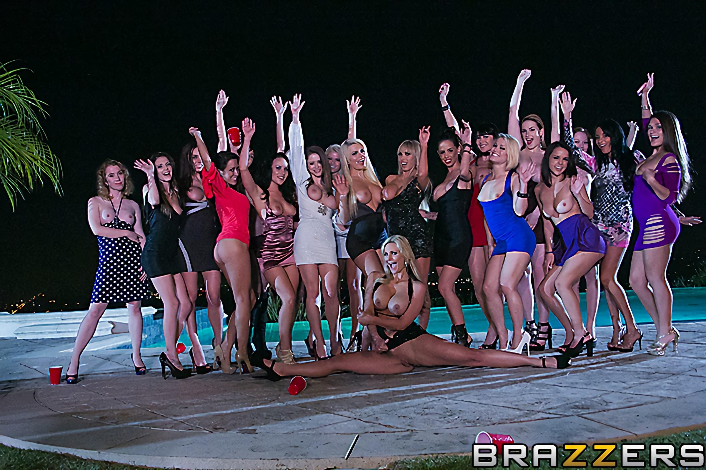 Brazzers 'A Brazzers New Years Eve' starring Nikki Benz (Photo 1)