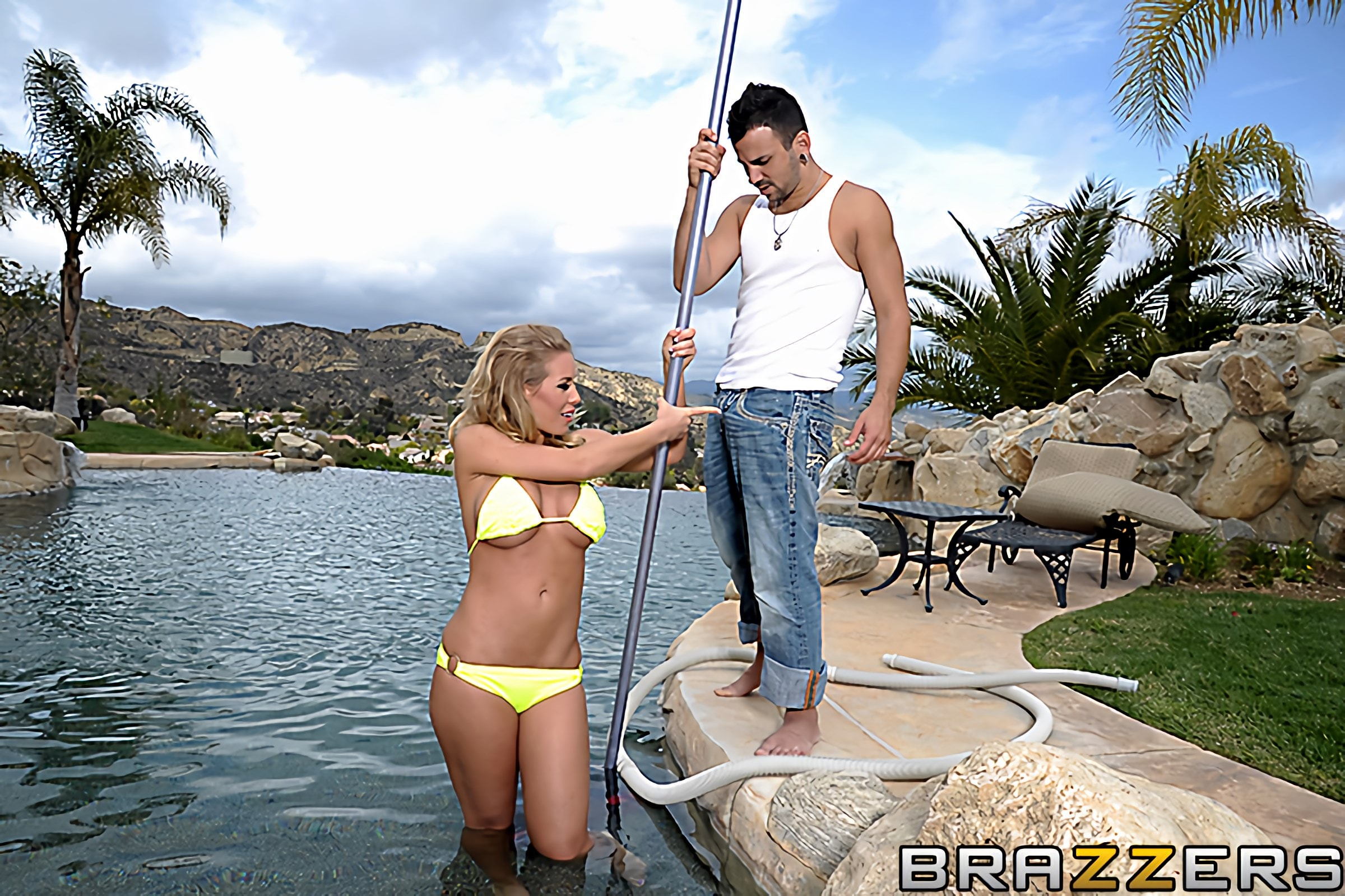Brazzers 'Greasy Grip Training' starring Nicole Aniston (Photo 10)