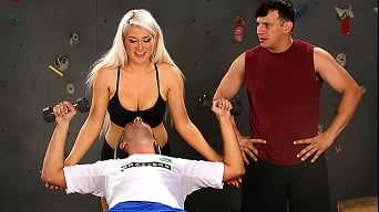 Nikki Phoenix in 'A Nut Draining Training'