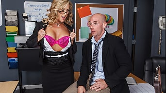Brandi Love in 'Grab Em Education'
