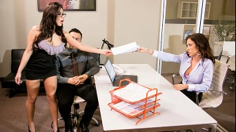 Capri Cavanni in 'Capri Rides Her Staff Hard'