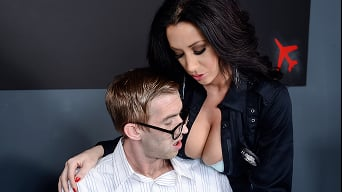 Jayden Jaymes in 'Big Twits in Uniform- Danny D Comes to America'